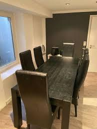 esszimmertisch esstisch set mit 6 stühlen kare design