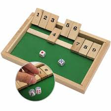 2018 Wholesale Classic Shut The Box Wooden Board Game Dice Pub Family Kids Toy Christmas Gift Educational Toys Best For Children From Lou88