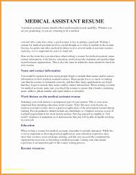 30 Lovely Medical Assistant Skills And Abilities Resume