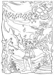 Awesome Underwater Coloring Pages 12 For Your Free Kids With