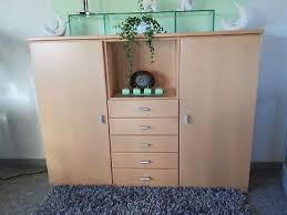 wohnzimmer sideboard ahorn massivholz hell 150 x 116 x 40