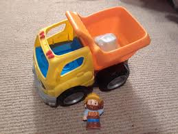 100 Little People Dump Truck Best Like New And Construction Worker For