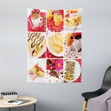 wandteppich aus weiches mikrofaser stoff für das wohn und schlafzimmer abakuhaus rechteckig kaffee bäckerei collage foto kaufen otto