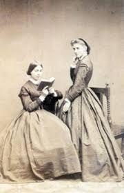 Marie Und Julie Schumann Als Junge Frauen