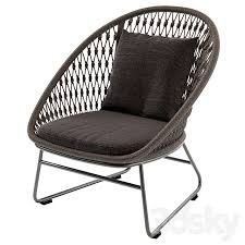 101 Coco Republic Warehouse 3d Models Arm Chair Outdoor Lounge Chair Bolletti