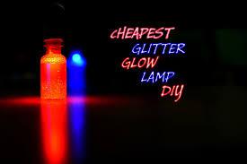 Introduction DIY Glitter Glow Lamp