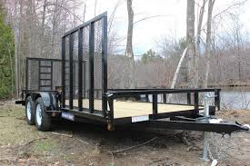 Sure Trac Dual Gate Landscape Trailer For Sale In Belchertown MA