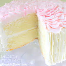White Almond Sour Cream Cake A Scratch Recipe