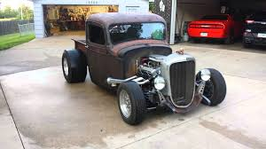 1936 Chevy Truck Hot Rod / Rat Rod #2 - YouTube