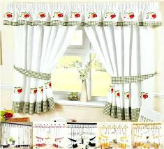 Amazon Red Kitchen Curtains by Amazon Curtains Eyelet Medium Size Of Kitchen Delightful Window