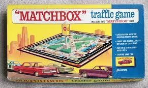 Vintage Board Game Matchbox Traffic