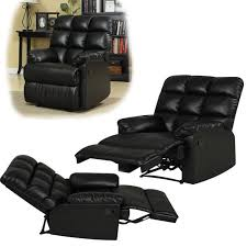 Ergonomic Living Room Furniture by Brown Leather Reclining Lazy Boy Sofa And Swivel Reclining Chair