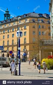 100 Karlaplan Near Station In Stockholm Sweden EU Stock Photo