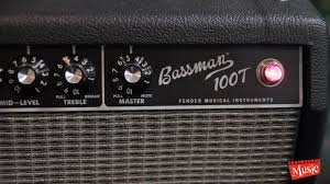 Fender Bassman Cabinet 1x15 by Fender Bassman 100t Head U0026 15
