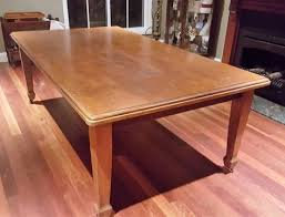 Antique Queensland Maple Dining Table And Sideboard