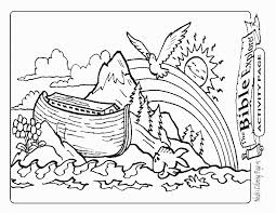 Inspirational Noah And The Ark Coloring Pages 59 With Additional For Adults