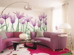 living room lila wohnzimmer haus deko wandgestaltung