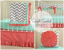 Teal And Coral Baby Bedding 39 best coral nursery images on pinterest coral nursery nursery