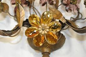 silk flower wall sconces metal flower wall sconces wall sconces