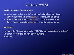 Text Decoration Underline Style by 1ère Partie Html Css Javascript Ppt Télécharger