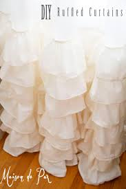 Light Pink Ruffle Blackout Curtains by 27 Best Ruffled Curtains Images On Pinterest Curtains Ruffle