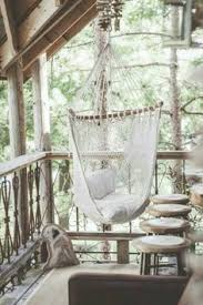 Knotted Melati Hanging Chair Natural Motif by Knotted Melati Hanging Chair Hanging Chair Backyard And Spaces
