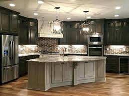 Country Kitchen Renovation Ideas Pictures Best Dark Cabinets On Brick Dining French