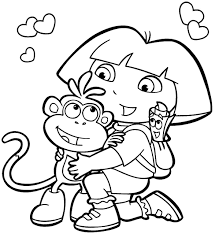 Cartoon Coloring Pages Free