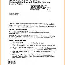 8 Social Security Benefits Letter