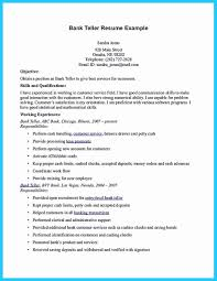 Resume For Bank Teller Awesome Samples No Experience 25 Cool Learning To Write