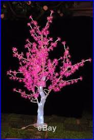 5ft Pink LED Crystal Cherry Blossom Tree Light Christmas Wedding Outdoor Decor