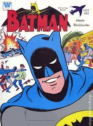 Batman Meets Blockbuster Coloring Book 1966 1032