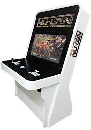 Mini Arcade Cabinet Kit Uk by Nu Gen Arcade Machine In Black And White Arcade Pinterest