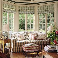 Living Room Curtain Ideas For Bay Windows by Accessories Bay Window Treatments With Brown Wooden Floor And