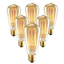 e26 filament light bulbs vintage retro industrial style edison