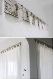 Design Bathroom Window Curtains by How To Hang Curtains Without A Rod If You U0027re Looking For A