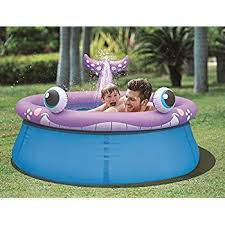 Jilong Whale Spray Inflatable Kiddie Pool For Ages 3 69 X 245