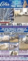 Coles Fine Flooring Santee by Coles Fine Flooring New Year Clearance Shopping Ads From San Coles