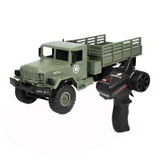100 Rc Army Trucks Amazoncom Remote Control Car Military Truck WPL B16 116 4WD RC