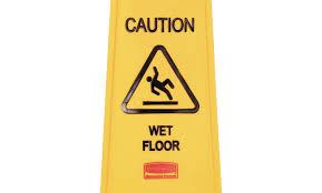 Banana Wet Floor Sign by Beguile Design Yoben Fancy Mabur Marvelous Munggah Horrible Motor