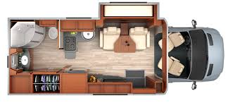 Sprinter Rv With Murphy Bed Within RV Floor Plans Mercedes Four Prepare 0