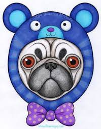 Hipster Pug From Thaneeya McArdles Coloring Book Amazon