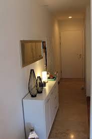 korridor eingangspartie der wohnung zum wohnzimmer mit