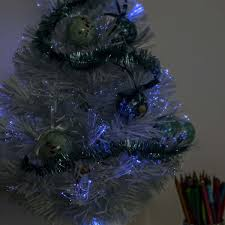 Small Fibre Optic Christmas Trees Uk by 60cm Frozen White Fibre Optic Christmas Tree