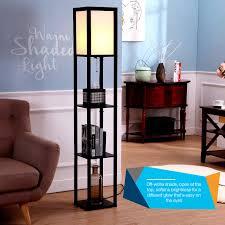 brightech store maxwell shelf floor l modern mood lighting