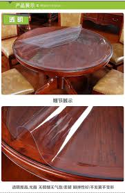 (1.5mm Transparent)Thick Crystal Clear Table Protector For Dining Room  Table - 120cm Round Plastic Protective Table Pad Kitchen Wood Grain Vinyl  ... Upholstery Fabrics Fabric Whosale Direct Home Fniture At Table Pads Custom Glass Ding Room Tables And Chairs Top Clear Round Tablecloth Cover Laminet New Improved Deluxe Heavyduty Waterproof Spill How To Make Removable Chair Covers Recover A Hgtv Amazoncom Honjekitchen Protector 60 X 90 Oval Transparent Modern For 4 Design Ideas 18 X Inch Wood Coffee Side For Large Pub Bar Desk Tabletop Countertop Topper Plastic Placemats