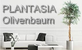 plantasia olivenbaum echtholzstamm kunstbaum kunstpflanze 180 cm schadstoffgeprüft