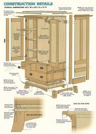 Armoire Furniture Plans | Roselawnlutheran Armoire Computer Desk Home Pating Ideas Building An Create And Babble Armoire Fniture Plans Roselawnlutheran How To Build A Modern Diy Dresser Woodarchivist Fniture Fancy Wardrobe For Organizer Idea Free Woodworking Plans Large Designs By Tv Turned Into Sewing Cabinet With Fold Up Table