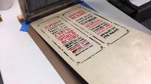 Of Course No Board Game Would Be Fair Without A Set Rules Steven Remedies This By Screen Printing An Alternating Red And Black Pasting