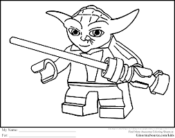 Star Trek Coloring Pages Lego Wars For Kids
